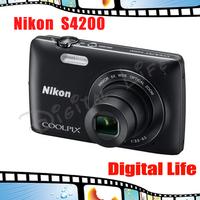 S4200 Original Genuine Nikon Coolpix S4200 Digital Camera with 16MP 6x Optical Zoom