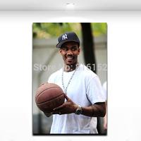 Free Ship Marbury Canvas Print Basketball Player All-Stars Boy Room Decoration Painting