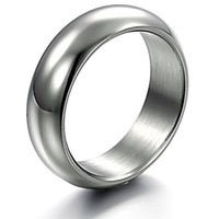 Fashion Jewelry Cheap Simple Surgical Stainless Steel Rings For Men Wholesale Price Nickle Free