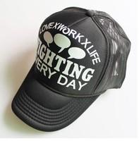 Yzstyle summer breathable mesh cap truck cap sunbonnet outdoor hat sun hat