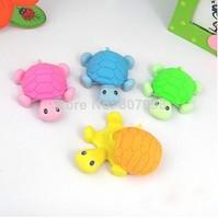 NEW Korean Stationery Animal Cartoon Rubber Traser Turtle New creative stationery Kid Eraser Student Erasers