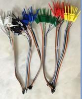 Quality test of the quality test hook clip. Logic analyzer test folder For USB Saleae 24M 8CH
