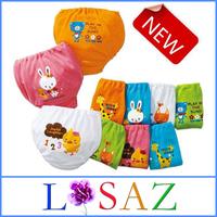 NEW Cartoon Newborn 80% Cotton Panties Fantasia Infantil Baby Bread Underwear Baby Rompers Infant Clothing