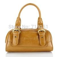100% Original Pure Leather bag cowhide women's handbag cowhide bag leather bag pillow shaped genuine leather handbag
