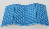 2pcs/lot free shipping Outdoor camping Moistureproof cushion portable folding cushion XPE mat Honey comb Massage Foam cushion