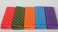 10pcs/lot free shipping Outdoor camping moistureproof mat cushion EVA dampproof cushion thickening portable folding Camping Mat