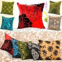 Classic 40cm*40cm Home Decor Square Pillowcases Bed Sofa Throw Pillow Cases Car Back Cushion Cover