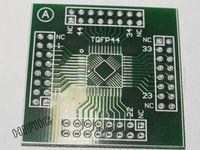 1PCS TQFP32 TQFP32 TQFP44 TQFP-44 Adapter PCB SMD Convert DIP Prototyping