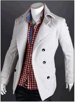 2014 male trench outerwear  water wash 100% cotton male jacket men's clothing men coat,Spring men jacket