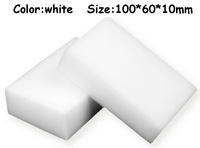 200 pcs/lot Wholesale White Magic Sponge Eraser Melamine Cleaner,multi-functional Cleaning 100x60x10mm Free Shipping