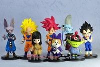 Wholesale anime Dragon Ball z mini figure model toy gift