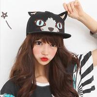 Hot Brand Fashion Snapback For Men Women Harajuku Cat Ear Baseball Caps Adjustable Hat Boy London SCX163-M0284