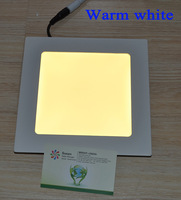 Ultra thin design 3W LED ceiling recessed grid downlight  square panel light