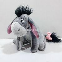 Free Shipping 1pcs 15cm Donkey Eeyore Plush Toy,Early Development Infant Plush toy,educational toy,Bed bells plush toys
