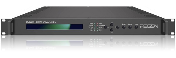 DVB-S/S2 QPSK Modulator 950~2150MHz RMSS9010-40 with GPS 10MHz clock in and out IP input(China (Mainland))