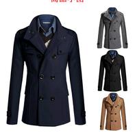 man spring 2014 outdoors original  homme  chaqueta hombre  for men male overcoat coats jaket