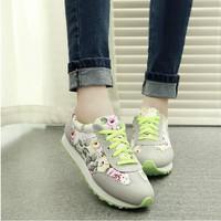 Women's casual shoes comfortable shoes Floral