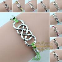 bracelets & bangles Double infinity revenge DIY bracelet 2014 new free shipping