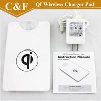 QI Wireless Charging Charger Pad for LG E960 Google Nexus 4 2G Nokia Lumia 920 Samsung Galaxy S3 I9300 S4 N7100 +Freeshipping