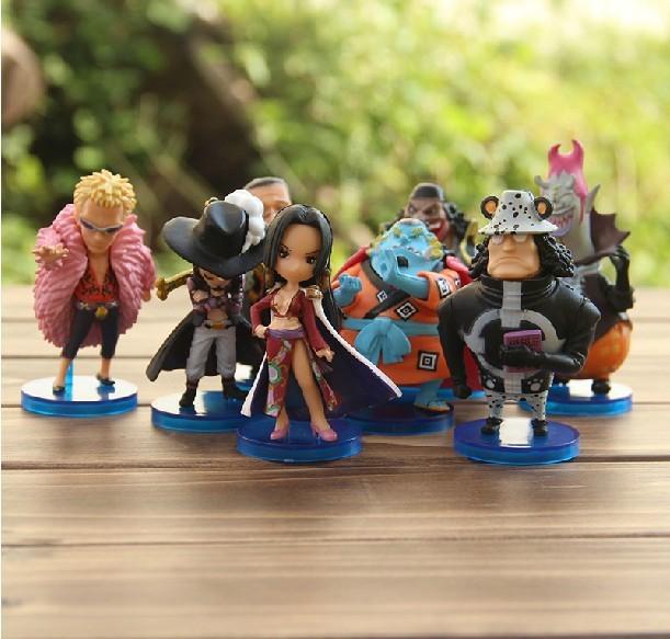 One Piece DX Figure 8 Shichibukai - Boa Teach Gecko Kuma Mihawk Jinbe Figures Toys -Free shipping Best Christmas gift(China (Mainland))