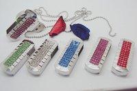 Drop shipping + Free shipping!!! Hotsale Jewelry novelty deisgn  usb flash drive 2GB-32GB flash memory stick pendrive(N429)