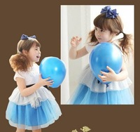 cAEBD1405128Summer children suit the original single foreign trade children's clothes princess dress skirt dress Korean version
