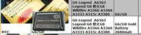 AAA+ grade G6 Legend  A6363 Legend G8  G8 Wildfire A3366 A3360 A3333 A315c A3380 like original