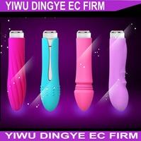 2014  New Mini Purple 5 Speed Vibration Bullet Vibrator Female Adult Sex Toys Sex Products AA Battery