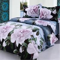 2014 New Luxurious Long Cotton Twill First Grade Export Type Queen 4 Pcs Bedding Sets/Bedclothes/Duvet Covers Bed Sheet. JS52
