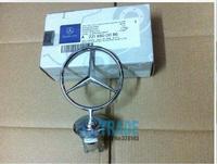 Mercedes BENZ BHD124 W124 3D Car Hood Badge Head Emblem Mark Symbolize With Gift Box Free Shipping