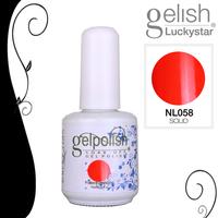 2pcs 15ml/0.5oz  Shellac  Soak-off UV Led Gel Polish Nail Art for UV or Led Lamp  NL058