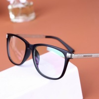 korean 2014 new plain glasses eyeglasses frame optical glasses new design fashion computer glasses oculos de grau A0088