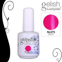 4pcs 15ml/0.5oz  Shellac  Soak-off UV Led Gel Polish Nail Art for UV or Led Lamp  NL075