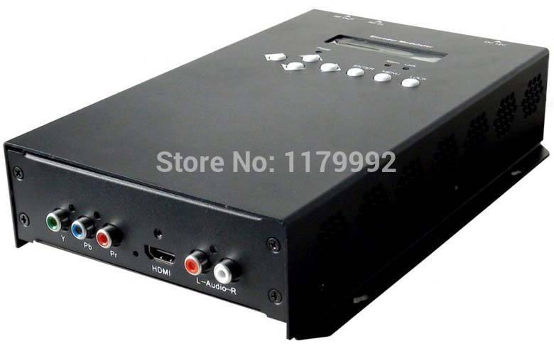HDMI/YPbpr to DVB-C(QAM) MPEG-2/H.264 HD Encoder Modulator Support AAC Audio encoding(China (Mainland))