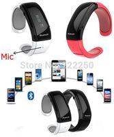 New Bluetooth bracelet watch Mic & speaker vibration caller ID Music QT19
