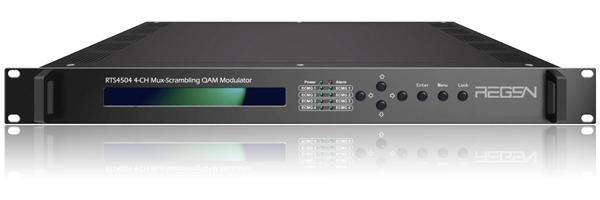 RTS4516 16 ASI input to Four-Channel RF OUT Mux-Scrambling QAM Modulator(China (Mainland))