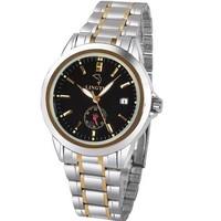 brand mechanical watch, Casual fashion dress watch,full steel men sports watches.men mechanical hand wind