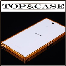 0 7mm Ultra Slim Aluminum Metal Bumper Frame Case For Sony Xperia Z Ultra XL39h