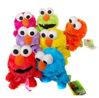 Christmas gift Sesame street ELMO plush doll for children 7colors 18cm  wholesale birthday gift