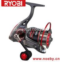 RYOBI Aluminium machine Carbon Ring  cut Seaproof KRIEGER 4000 Ryobi Spinning Fishing Reel