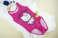 2014 Wholesale Promotion Quality Cute Cartoon Girl Swimsuit/Swimming Costume/Swimwear Male Children Beachwear