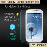High Quality Scratch Resist Tempered Glass Screen Protector For Samsung Galaxy Grand Duos i9082 Free Shipping DHL HKPAM CPAM