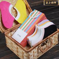 Free shipping for CPAM & Epacket 8pairs one pack  Female ship socks bamboo fiber cotton socks/Invisible socks/girls in socks