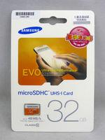 Free Shipping Hot NEW Samsung EVO Micro SD SDHC 32GB UHS-I TF Class10 Memory Card  MB-MP32D