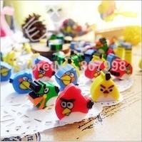 Bird Eraser/ Novelty eraser / Rubber Eraser/ Cartoon kid Gifts Wholesale Children Student School Supplies Random Color