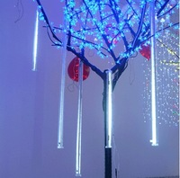 80cm 78 LED christmas meteor rain tube light,led running light tube 10tube/set