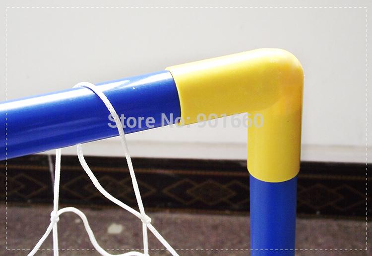 2 Sets Football Soccer Door Gate Fun Sport Out Door Deluxe Football Goals + Ball(China (Mainland))