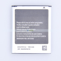 1500mah EB425161LU Replacement S3 Mini Battery for Samsung Galaxy S3 Mini i8190 Batteries Bateria Batterie Batterij by DHL/UPS