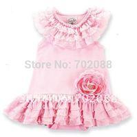 Retail new 2014 Hot sale Polka Dot princess girl dress cake Tutu dresses without headband sleeveless