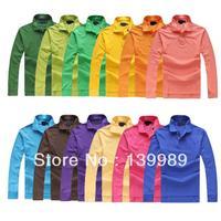 NEW ARRIVE!! 2013 fashion High quality brand mens long sleeve shirt 100% cotton shirt crocodile embroidery logo free shipping